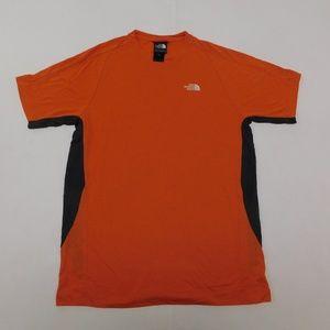 The North Face S Orange Crewneck Tee  Modal Blend